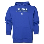 Turks & Caicos Islands CONCACAF Distressed Hoody (Royal)