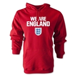 England We Are Hoody (Red)