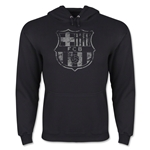 Barcelona Distressed Hoody (Black)