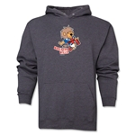 1966 FIFA World Cup Willie Mascot Hoody (Dark Grey)