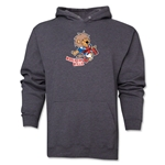 1966 FIFA World Cup Willie Mascot Logo Hoody (Dark Grey)