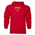 Spain FIFA U-17 Women's World Cup Costa Rica 2014 Men's Core Hoody (Red)