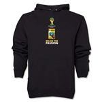 1950-2014 Historical FIFA World Cup Brazil Hoody (Black)