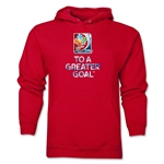 FIFA Women's World Cup Canada 2015(TM) Slogan Hoody (Red)