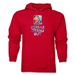 FIFA Women's World Cup Canada 2015(TM) French Slogan Hoody (Red)