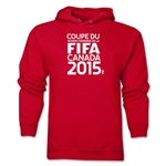 FIFA Women's World Cup Canada 2015(TM) French Logotype Hoody (Red)