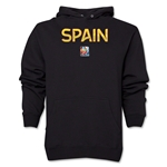 Spain FIFA Women's World Cup Canada 2015(TM) Soccer Hoody (Black)