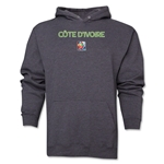 Cote d'Ivoire FIFA Women's World Cup Canada 2015(TM) Soccer Hoody (Dark Grey)
