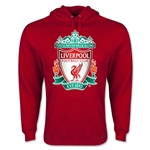 Liverpool Crest Hoody (Red)