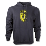 LOSC Lille Distressed Crest Hoody (Black)