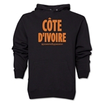Cote d'Ivoire Powered by Passion Hoody (Black)