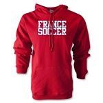 France Soccer Supporter Hoody (Red)