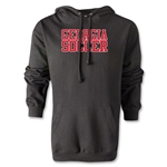 Georgia Soccer Supporter Hoody (Black)