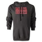 Malta Soccer Supporter Hoody (Black)