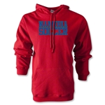 Namibia Soccer Supporter Hoody (Red)