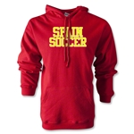 Spain Soccer Supporter Hoody (Red)