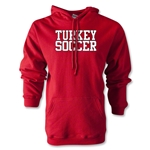 Turkey Soccer Supporter Hoody (Red)