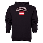 Austria Football Hoody (Black)