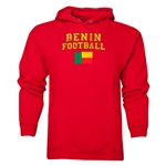 Benin Football Hoody (Red)