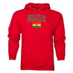 Bolivia Football Hoody (Red)
