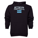 Botswana Football Hoody (Black)