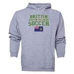 British Virgin Islands Soccer Hoody (Ash)