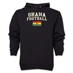 Ghana Football Hoody (Black)