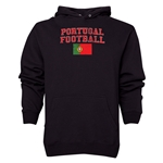Portugal Football Hoody (Black)