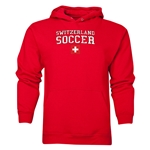 Switzerland Soccer Hoody (Red)
