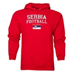Serbia Football Hoody (Red)