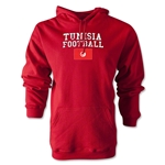 Tunisia Football Hoody (Red)