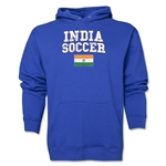 India Soccer Hoody (Royal)