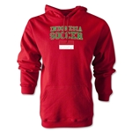 Indonesia Soccer Hoody (Red)
