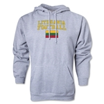 Lithuania Football Hoody (Ash)