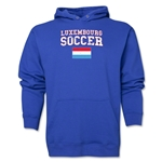 Luxembourg Soccer Hoody (Royal)