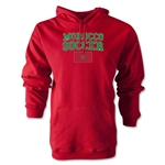 Morocco Soccer Hoody (Red)