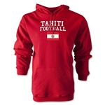 Tahiti Football Hoody (Red)