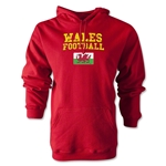 Wales Football Hoody (Red)