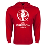 Euro 2016 Core Emblem Hoody (Red)