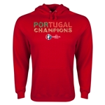 Portugal UEFA Euro 2016 Champions Hoody (Red)