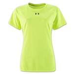 Under Armour Women's Locker T-Shirt (Neon Yellow)