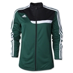 adidas Tiro 13 Women's Training Jacket (Dg/Bl)