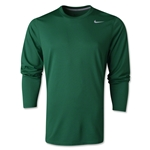 Nike Legend LS Poly Top (Dark Green)