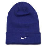 Nike Stock Cuffed Knit Beanie (Roy/Wht)