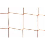Kwik Goal Soccer Net-2 mm Orange (6.5'X12'X0'X6.5') (120MM)