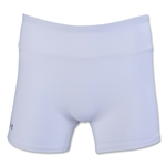 Under Armour Women's Authentic 4 Compression Short (White)