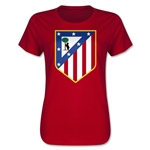 Atletico Madrid Core Women's T-Shirt (Red)