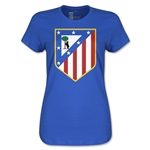 Atletico Madrid Crest Women's T-Shirt (Royal)