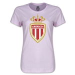 AS Monaco Women's Soccer T-Shirt (Pink)