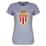 AS Monaco Women's Soccer T-Shirt (Grey)